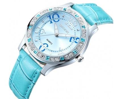 Dámské SKONE hodinky ve 4 variatách s kamínky
