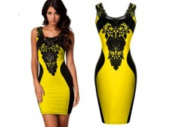 Luxusní dámské pouzdrové šaty 4 barvy