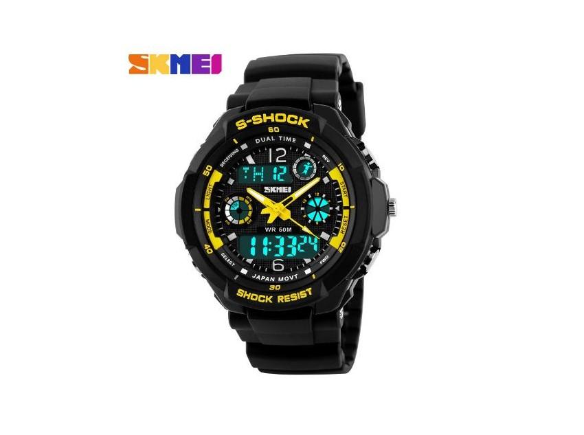 8af45e74ee4 Pánské sportovní vojenské hodinky outdoor - SKMEI - VseZeSveta.cz