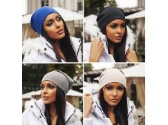 Dámská stylová zimní čepice 14 modelů