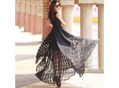 Dámské plesové šaty černé a bílé 4 velikosti ... 041c3705e0